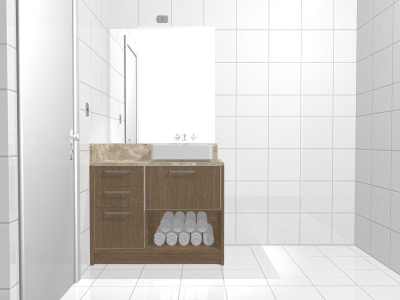 Bartz Móveis Planejados  Balcão banheiro -> Balcao Banheiro Planejado