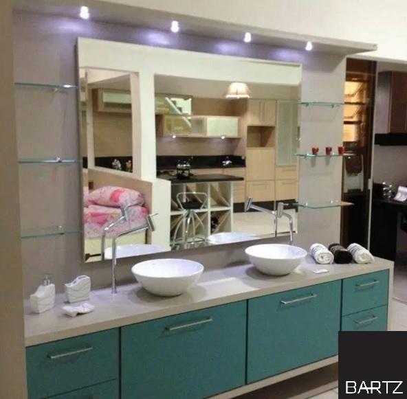 Bartz Móveis Planejados  Projetos da nossa loja de móveis -> Banheiro Planejado Mdf